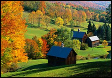 Sleepy Hollow Farm near Woodstock. Vermont, New England, USA ( color)
