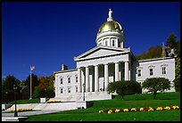 State House, Montpellier. Vermont, New England, USA ( color)