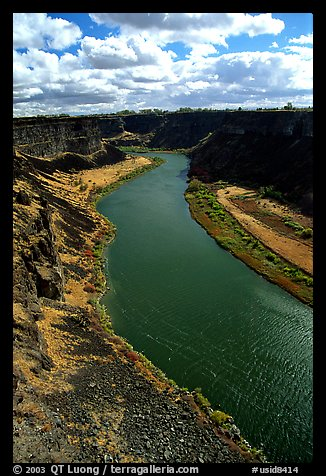 Snake River. Idaho, USA (color)
