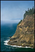 Seacliff near Cap Meares. Oregon, USA