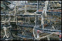 Traps for crabbing. Newport, Oregon, USA (color)