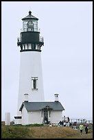 Yaquina Head Lighthouse. Newport, Oregon, USA ( color)