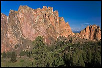 Cliffs called the Phoenix. Smith Rock State Park, Oregon, USA