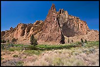 Ryolite cliffs. Smith Rock State Park, Oregon, USA