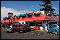 Hot Rod Grill, Florence. Oregon, USA (color)