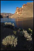 Owyhee Reservoir, Leslie Gulch. Oregon, USA (color)