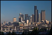 Downtown skyline. Seattle, Washington (color)