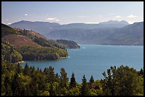 Riffe Lake. Washington (color)