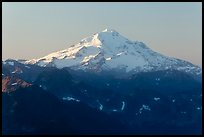 Glacier Peak, early morning. Washington (color)