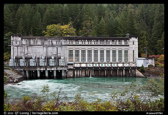 Gorge Powerhouse, Newhalem. Washington