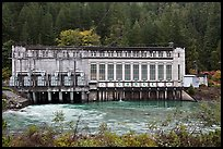 Gorge Powerhouse, Newhalem. Washington (color)