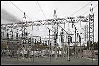 Transmission substation, Newhalem. Washington (color)