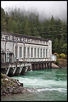 Hydroelectric power plant, Newhalem. Washington (color)