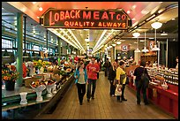 Main Arcade, Pike Place Market. Seattle, Washington ( color)