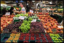 Fruit vending, Pike Place Market. Seattle, Washington ( color)