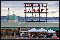 Pike Place Market. Seattle, Washington ( color)