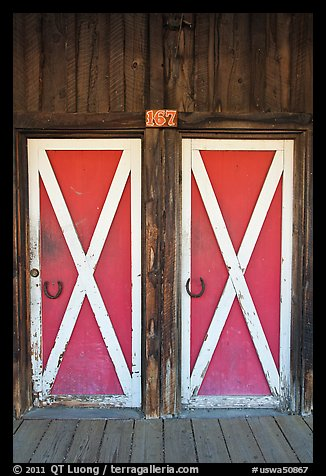 Doors, Winthrop. Washington