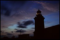 Lighthouse at dusk, Cabo Rojo. Puerto Rico ( color)