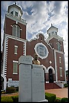 Selma-Montgomery march memorial and Brown Chapel. Selma, Alabama, USA ( color)