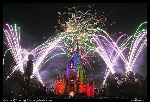 walt disney world castle fireworks. Castle, Walt Disney World.