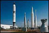 Saturn Rockets, John F. Kennedy Space Center. Cape Canaveral, Florida, USA ( color)