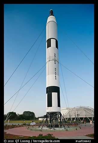 American Rockets, National Aeronautics and Space Administration Flight Center. Cape Canaveral, Florida, USA (color)