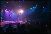 Circus show, Walt Disney World. Orlando, Florida, USA (color)