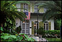 Facade of Hemingway's house. Key West, Florida, USA ( color)