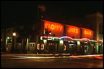 Sloppy Joe bar by night. Key West, Florida, USA