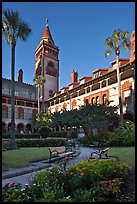 Ponce de Leon Hall, Flagler College. St Augustine, Florida, USA ( color)