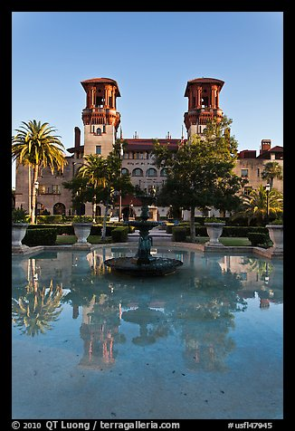 City Hall and Lightner Museum. St Augustine, Florida, USA