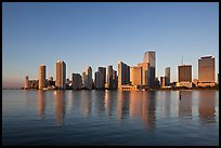 Miami Skyline. Florida, USA ( color)