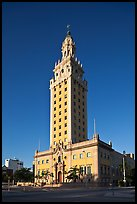 Freedom Tower, memorial to Cuban immigration, Miami. Florida, USA ( color)