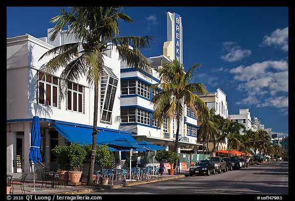 Art Deco District, Miami Beach. Florida, USA
