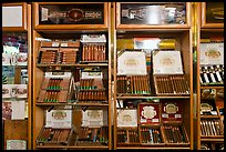 Cuban cigars for sale, Mallory Square. Key West, Florida, USA ( color)