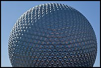 18-story geodesic sphere, Epcot theme park. Orlando, Florida, USA ( color)