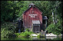 Harpers Mill, Magic Kingdom, Walt Disney World. Orlando, Florida, USA (color)