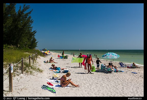 Captiva Beach, Captiva Island. Florida, USA (color)