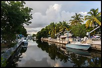 Canal, Big Pine Key. The Keys, Florida, USA ( color)