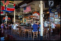 Inside Sloppy Joes. Key West, Florida, USA ( color)