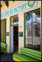 Key Line Pie Factory facade. Key West, Florida, USA ( color)