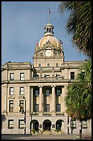 Savannah City Hall. Savannah, Georgia, USA ( color)