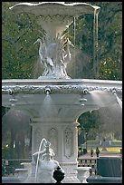 Forsyth Park Fountain. Savannah, Georgia, USA ( color)