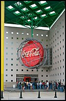 Line at World of Coca-Cola (R) entrance. Atlanta, Georgia, USA ( color)