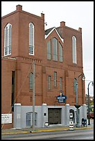 Historic Ebenezer Baptist Church, Martin Luther King National Historical Site. Atlanta, Georgia, USA ( color)