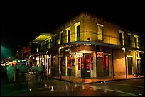 Maison Bourbon, on Bourbon Street, French Quarter. New Orleans, Louisiana, USA