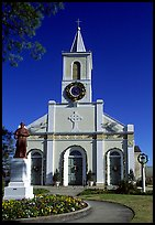 The church Saint-Martin-de-Tours, Saint Martinville. Louisiana, USA ( color)