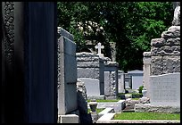 Tombs in Saint Louis cemetery. New Orleans, Louisiana, USA ( color)