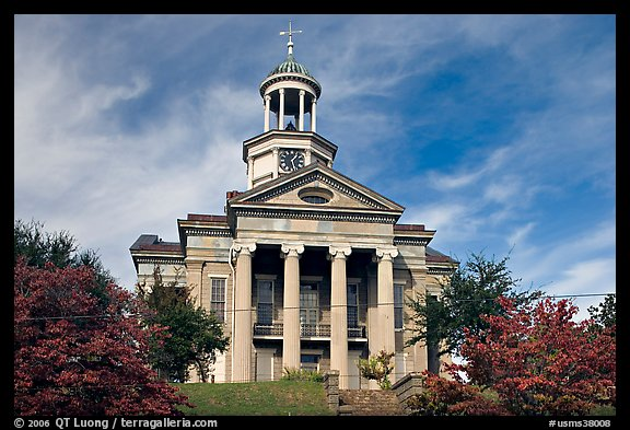 Historic courthouse museum. Vicksburg, Mississippi, USA