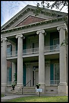 Magnolia Hall. Natchez, Mississippi, USA (color)